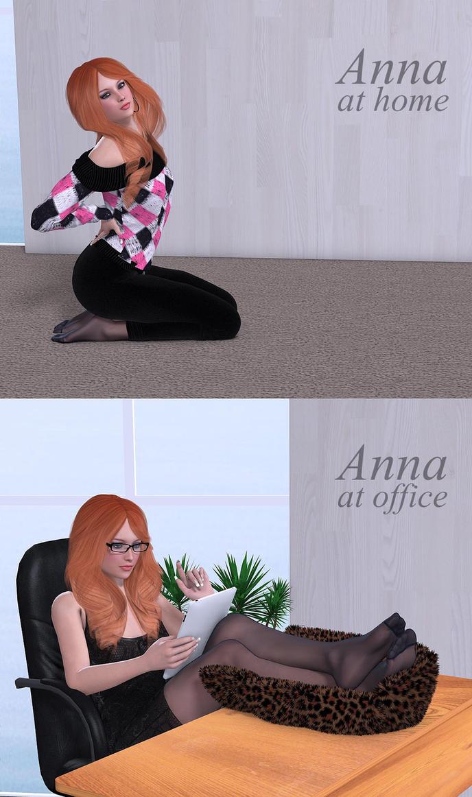 Anna by Rometheus