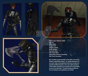 Cain 'Lithium' Adler in CoH