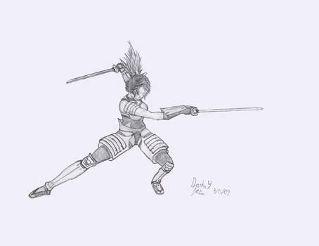 Battle art, Kunoichi Mikka