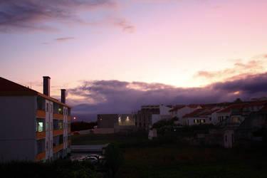 Sunset at Terceira