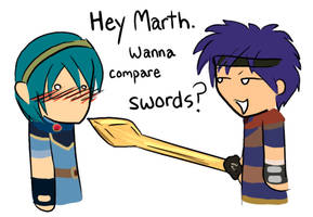 Hey Marth... by WeebleClock