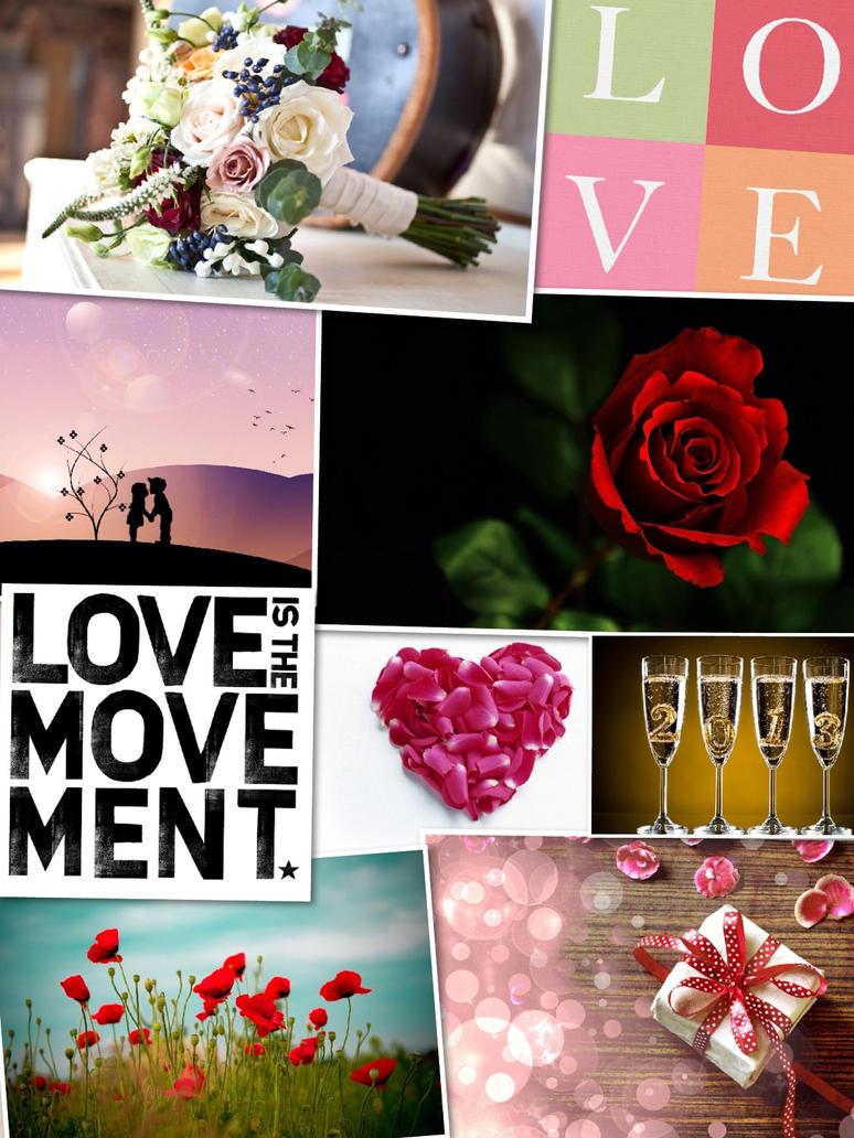 Valentine Day Special Collage By SasuSaku NaruHina01 ...