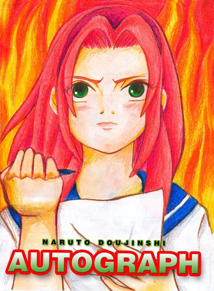 Autograph Doujinshi Cover (ENGLISH) by SasuSaku-NaruHina01