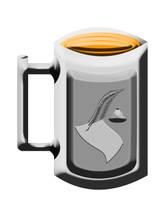 Engraved mug by C-Hillman