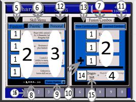 Silver Symbiosis Skill menu mock-up by C-Hillman