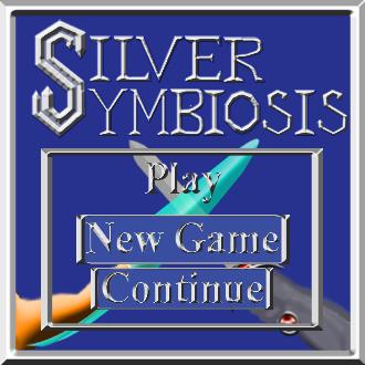 Silver Symbiosis title screen Play menu mock-u by C-Hillman