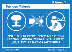 Teenage Mutants by schizmatic