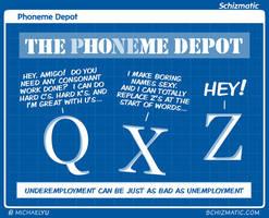 Phoneme Depot by schizmatic