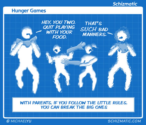 Hunger Games by schizmatic