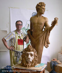 Courage in clay
