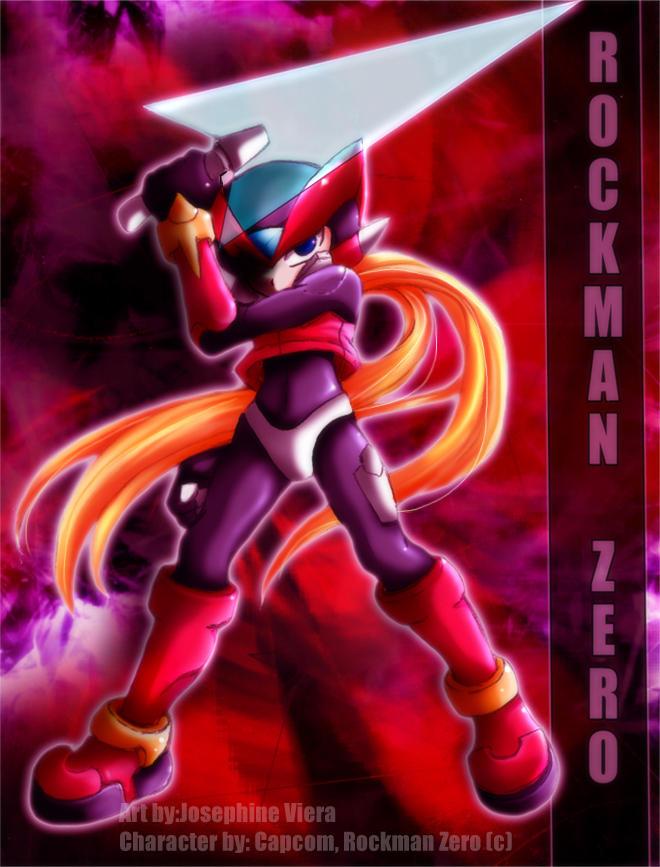 +++Rockman Zero+++ by Kpx-Beatrix