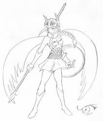Valkyrie by phoenixsamurai