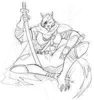 The Grey Wolf by phoenixsamurai