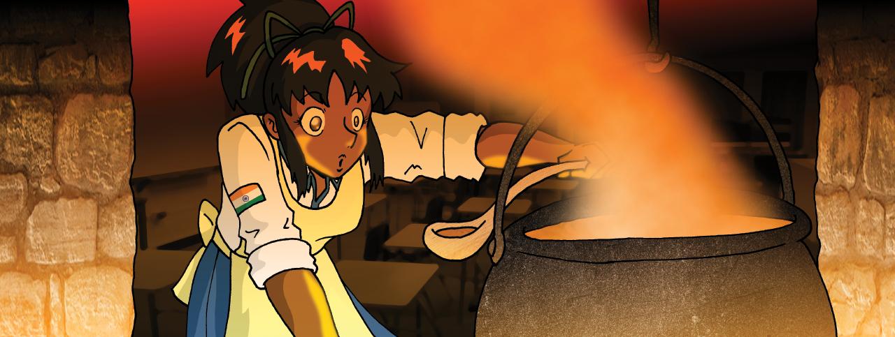 Demongate High: Mystic Brew by phoenixsamurai