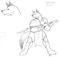 Canisian Warrior by phoenixsamurai
