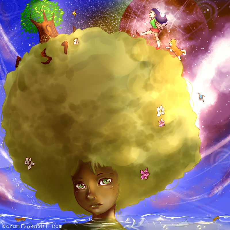 Secret Planet ~ IFTC by kazumitakashi