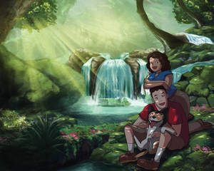 Ghibli style commission