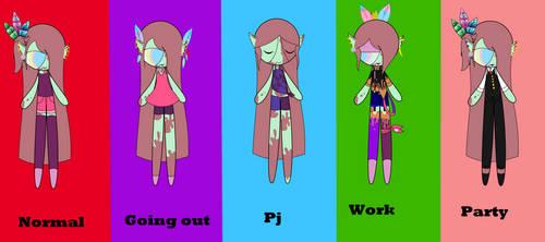 Al's outfits