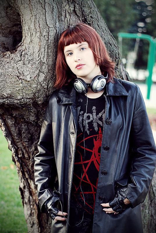 Metal girl by Moplika on DeviantArt