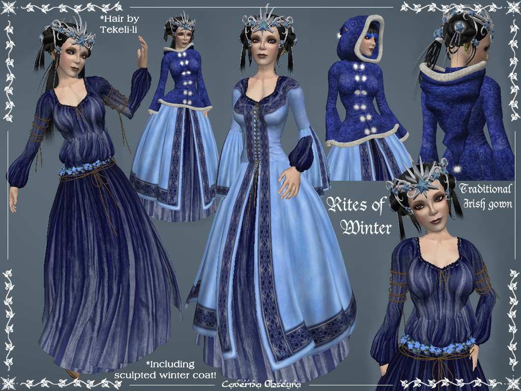 Rites of Winter Celtic Gown by Elvina-Ewing on DeviantArt