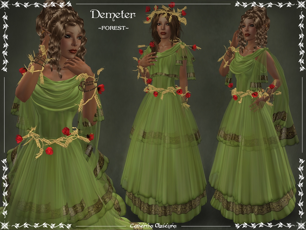 Demeter outfit forest by elvina ewing on deviantart demeter outfit forest by elvina ewing buycottarizona Image collections