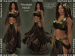 Moonlight Melody DARK Outfit