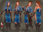 Elven Scout Outfit BLUE