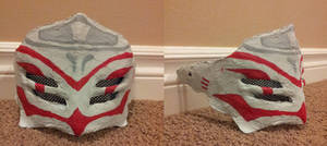 White Fang Cosplay: Completed Mask 2