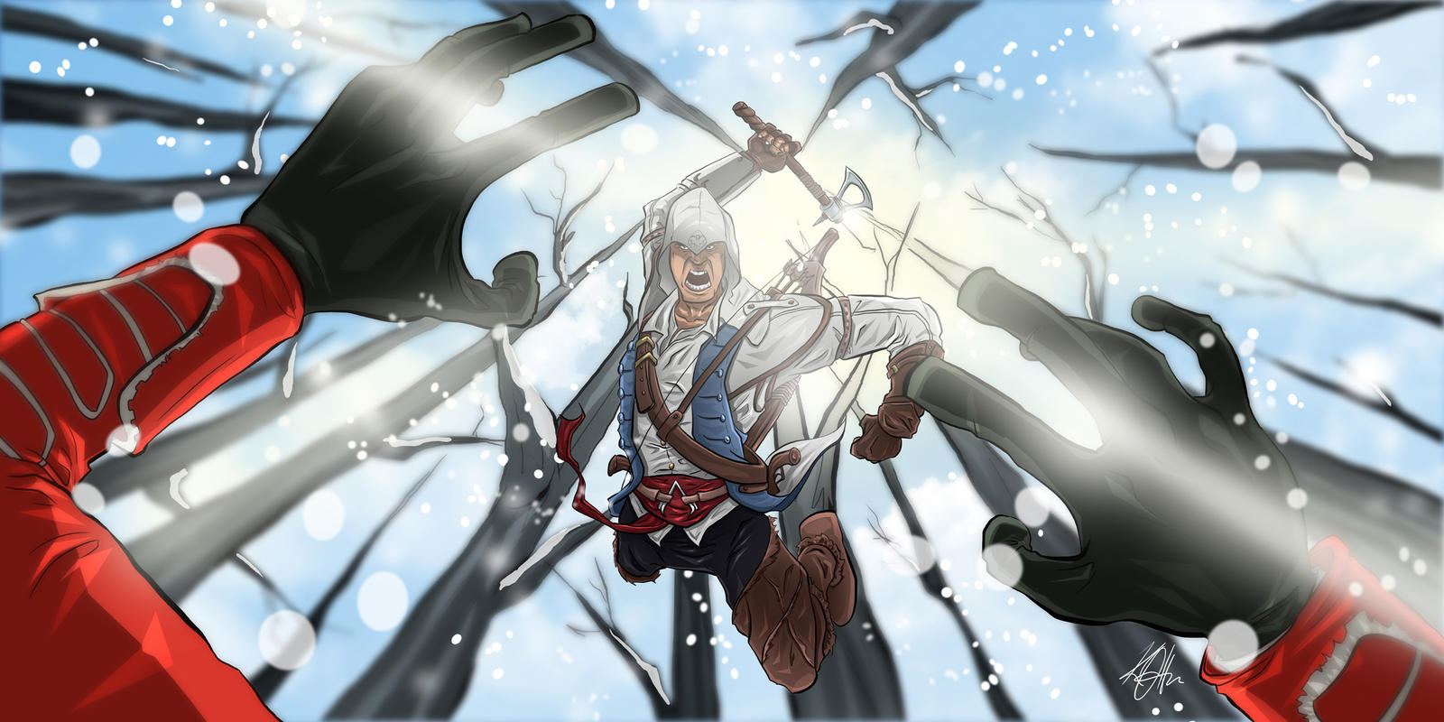 Assassin's Creed 3 Fan Art Contest by Duff03