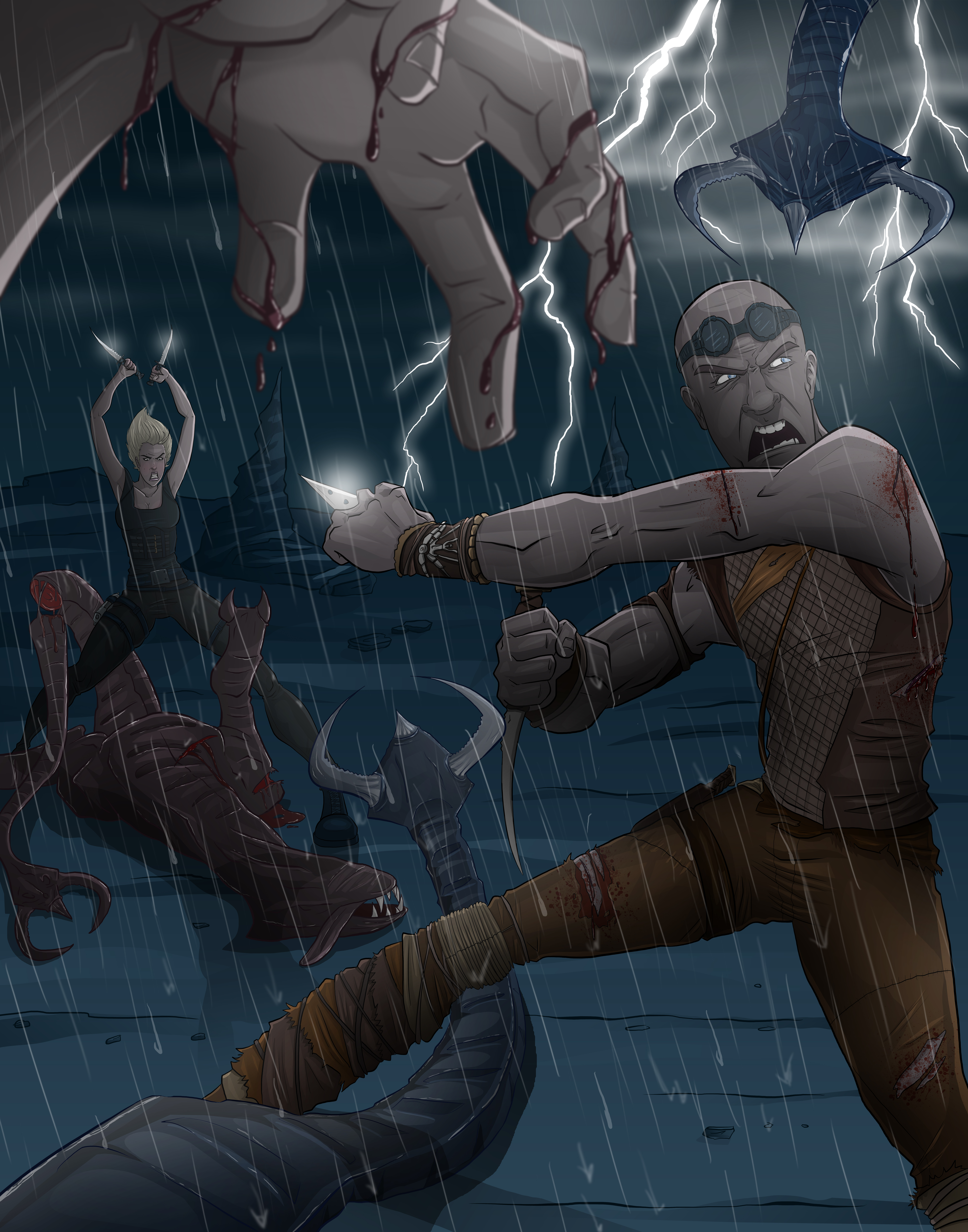 Riddick Rule the Dark Contest by Duff03