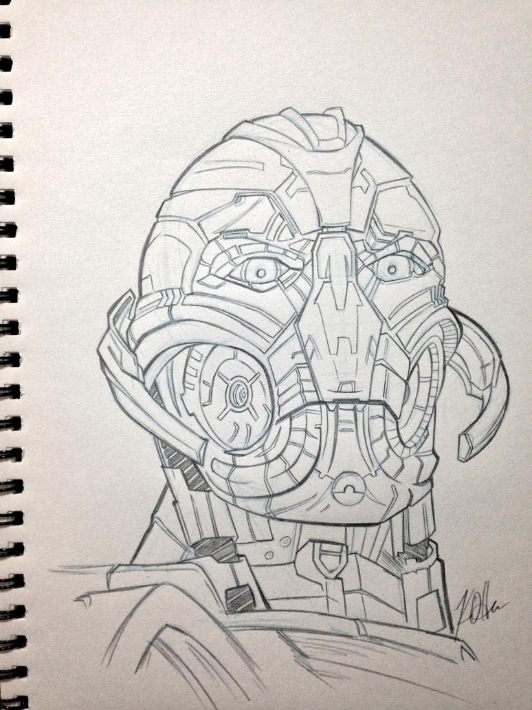 Ultron Sketch by Duff03