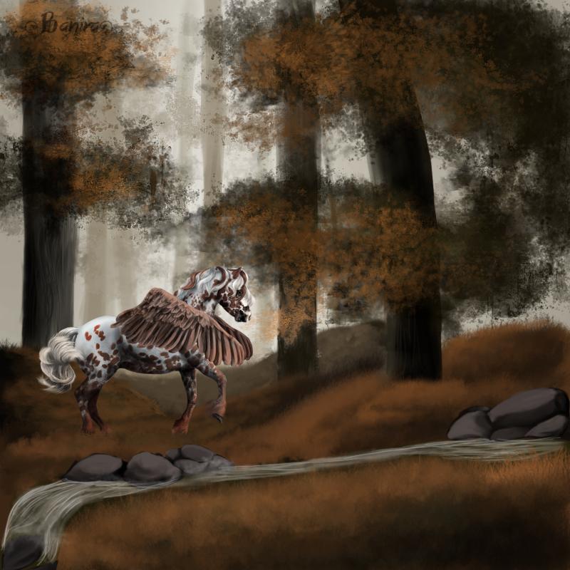 En el corazon del bosque by Caballista1