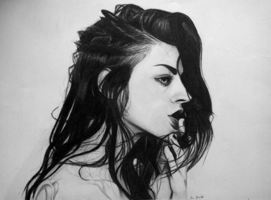 Frances Bean Cobain by AnumJaved