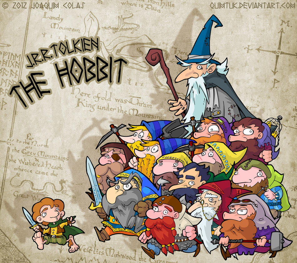 The Hobbit - Thorin and Company by Quimtuk