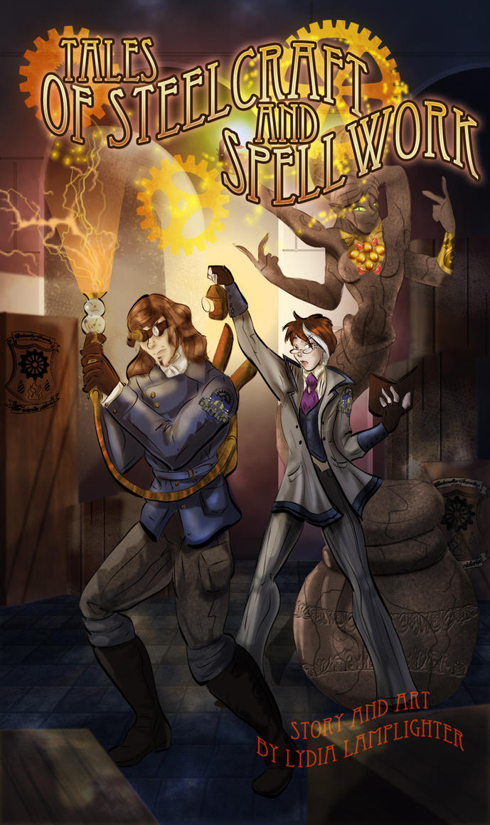 Tales of Steelcraft and Spellwork Cover by jekylnhyde
