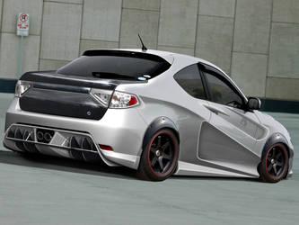 Subaru Imprenza Carbon concept by themjdesign