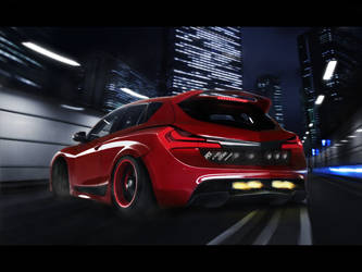Mazda Hammer Concept by themjdesign