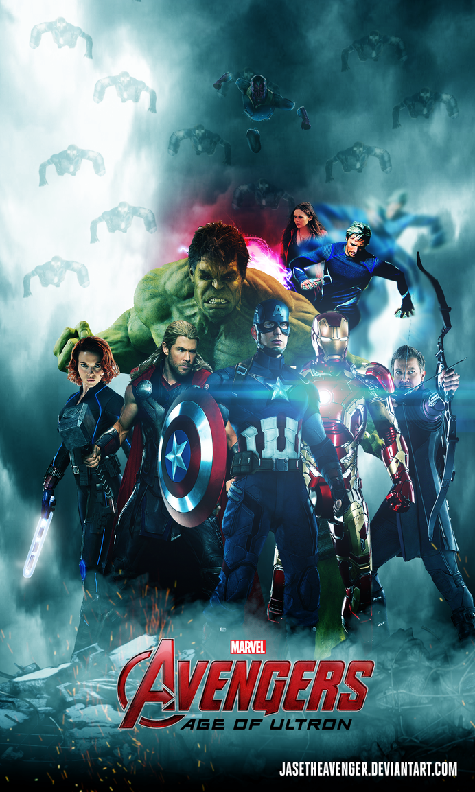 Avengers Age Of Ultron By Iloegbunam On Deviantart: Avengers Age Of Ultron Poster By JaseTheAvenger On DeviantArt