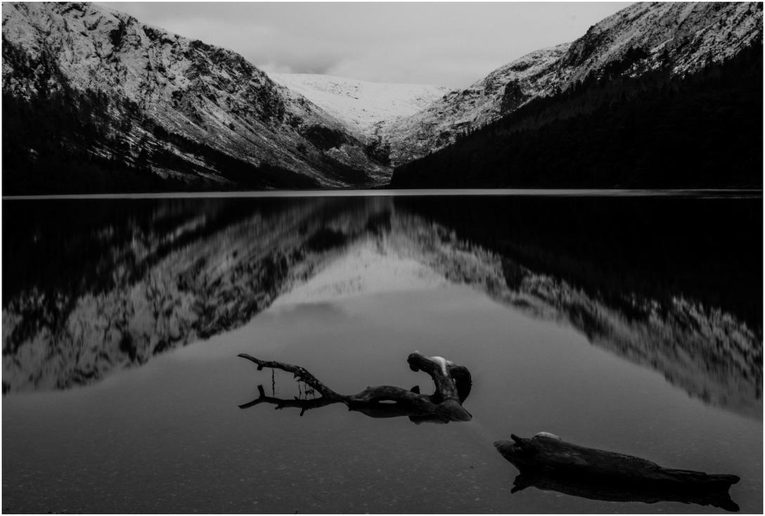 Glendalough reflection by Neo--Art