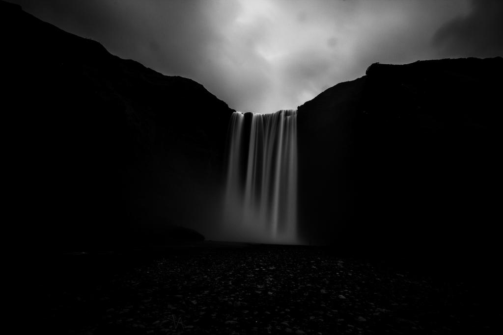 Mysterious Waterfall by LuckyLisp