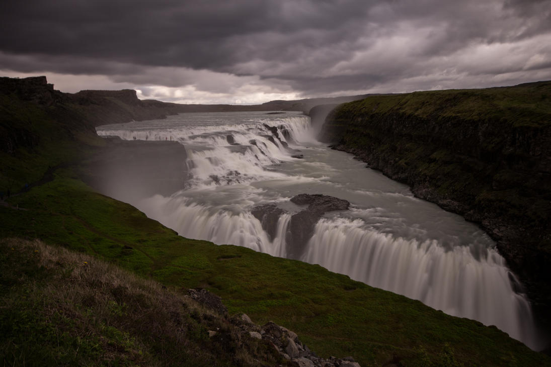Gullfoss Waterfalls by LuckyLisp