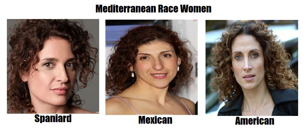 Mediterranean Race Women: Spain, Mexico and USA by ...
