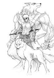 Werewolf by janusmemory
