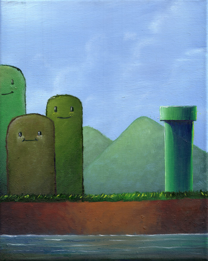 Happy little Mountains by poxel