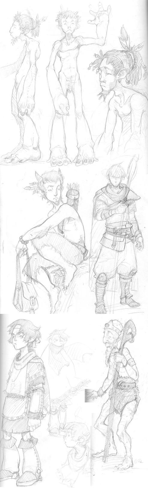 Sketches Jan 2011 by poxel