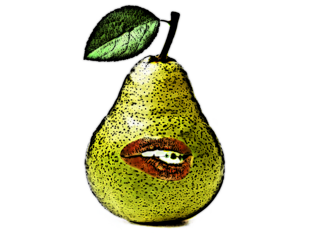 The Sexy Cartoony Pear of Salamanca by KainTheSupreme