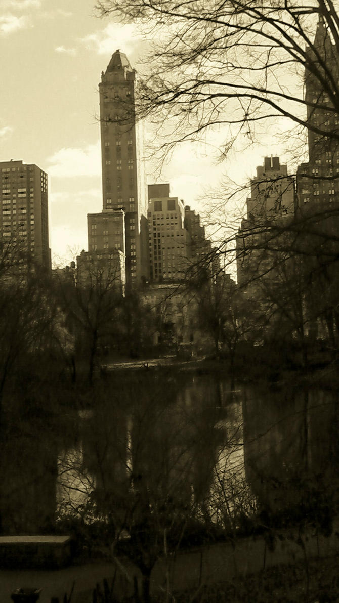 Central Cityscape II by CaptRhodes