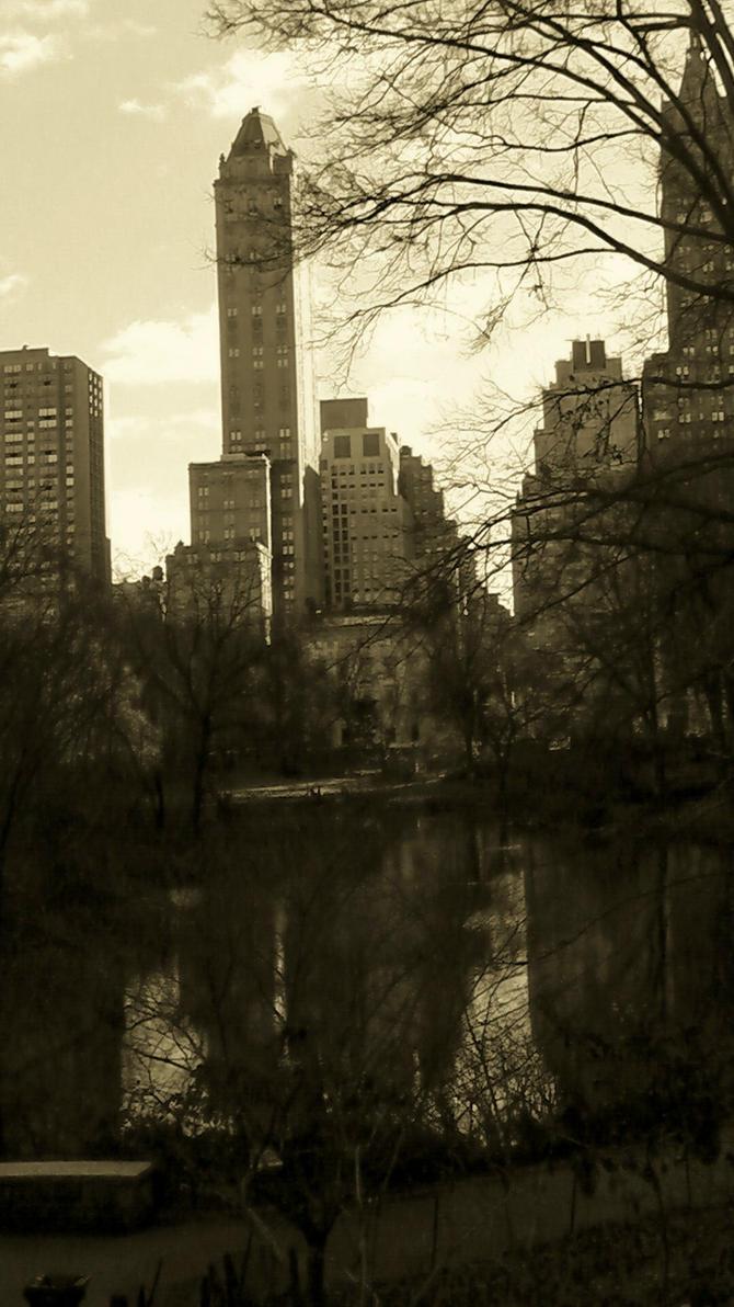 Central Cityscape II by MatthewForte