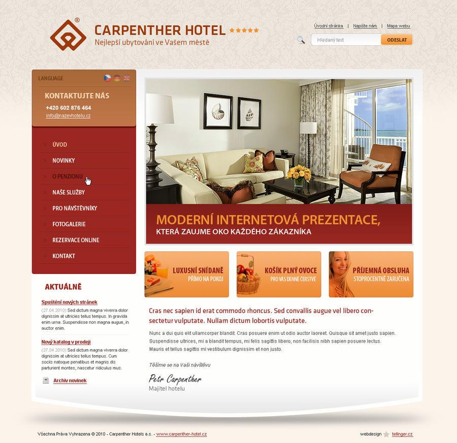 Hotel template by tellinger on DeviantArt