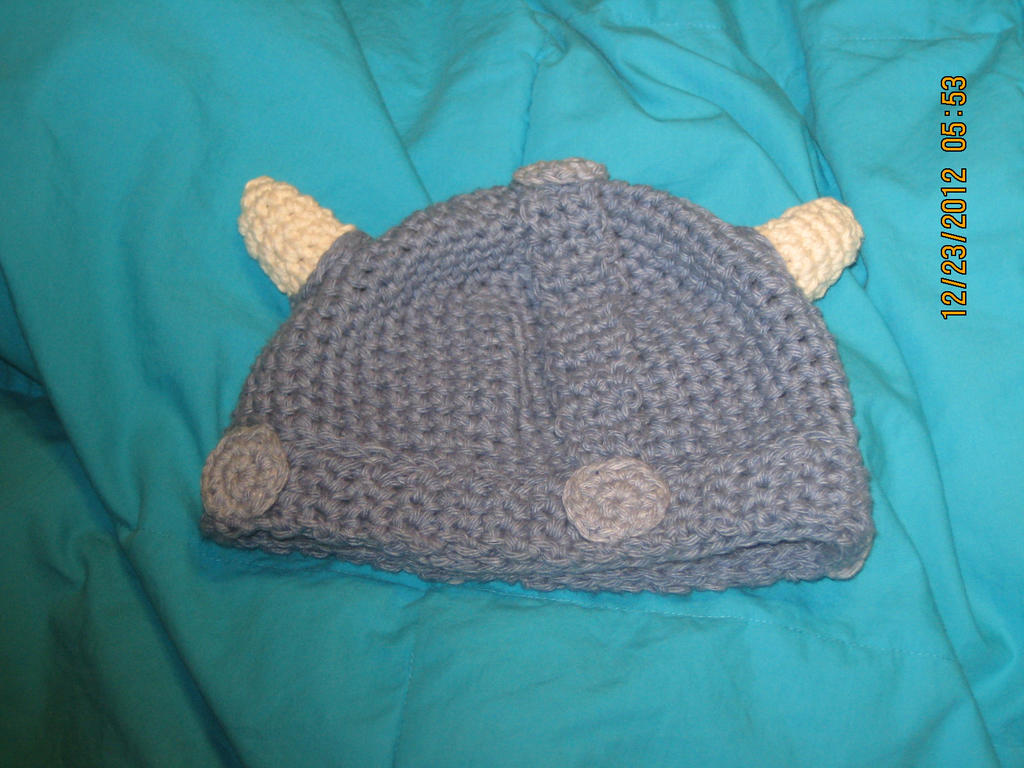 Crochet viking hat with horns by kristyreal on DeviantArt